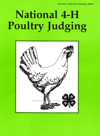 cover of the National 4-H Poultry Judging manual