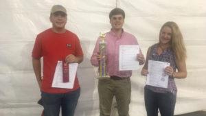 Senior Class Skill-A-Thon winners
