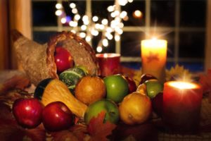 Image of Thanksgiving cornucopia
